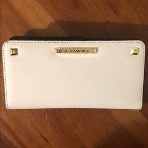 Rebecca Minkoff Saffiano Leather Wallet